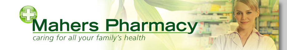 Mahers Pharmacy header